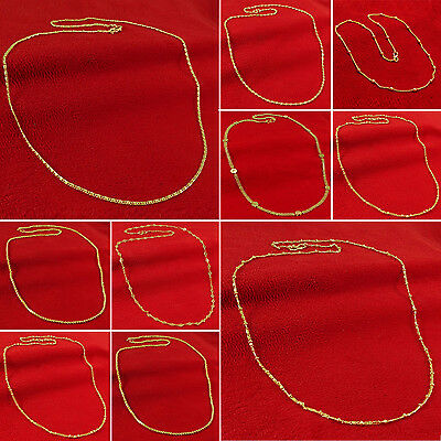 Gold Plated Indian Women Traditional Chain Necklace Party Jewelry BNG12A-PAR