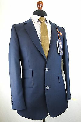 Mens Navy Blue Hammond & Co by Patrick Grant Tailored Fit Suit 38 40 42 44 EZ289