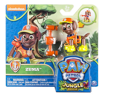 New Paw Patrol Jungle Zuma Hero Action Pup Figure Children Play Toys Age 3 & Up
