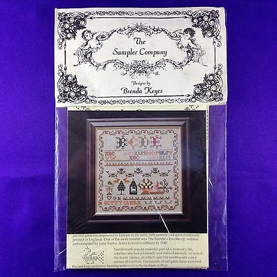 "Vintage Cross Stitch Booklet ""Betty Clark Sampler"" by The Sampler Company"
