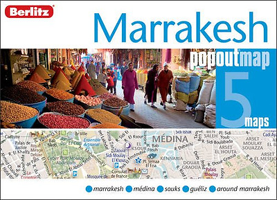Marrakesh Berlitz PopOut Map (Berlitz PopOut Maps), Very Good Condition Book, Be