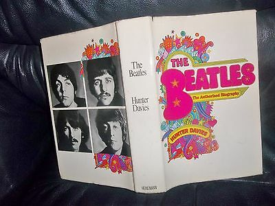 "The Beatles ""The Authorised Biography"" Hunter Davies First Edition 1968 Hardback"