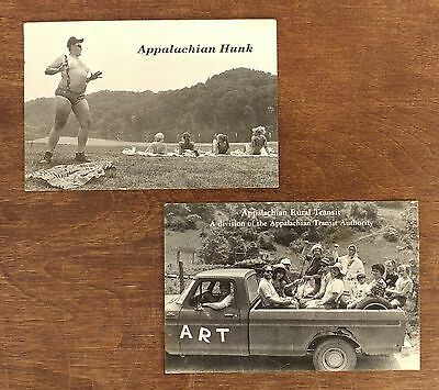 Set of 2 Vtg. Appalachian Funny Postcards