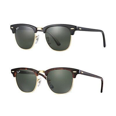 Ray-Ban RB3016 Clubmaster Sunglasses - Choice of Size and Color