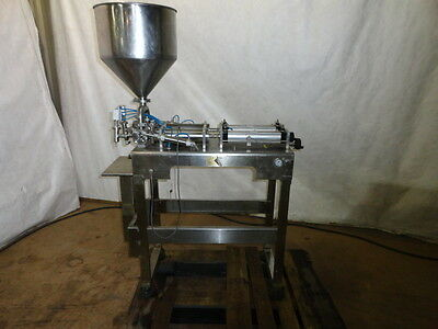 Stainless Steel Dual Piston Filler. Md# 1000