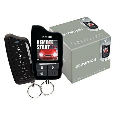 Python 5906P 2-Way Security and Remote Start System w/ HD Color Wireless Remote