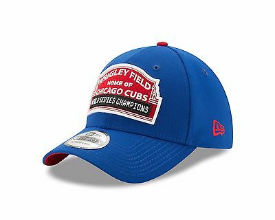 56ffe024822 Chicago Cubs New Era 39THIRTY Wrigley Field Worls Series Champions Hat Cap