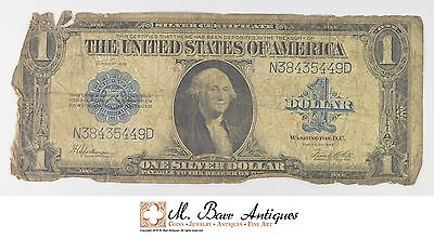 1923 $1 Silver Certificate US Currency Note *046