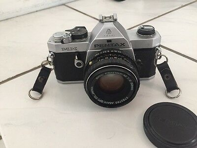 Pentax MX 35mm SLR Film Camera with 50 MM lens