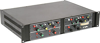 "Rackmount Chassis Kit for vintage 7"" Ward-Beck modules (4 modules /rack)"