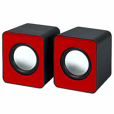 Frisby FS-334U Small Portable USB Powered Portable Speakers for Laptops & Tablet