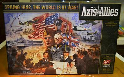 Axis & Allies 2009 Edition Spring 1942 The World Is At War Board Game