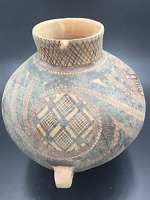 A Chinese Pottery Jar Neolithic Majiayao Style