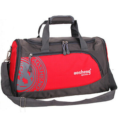 Travel Duffel Gym Sports Bag for Men and Women with Shoes Compartment Overnight