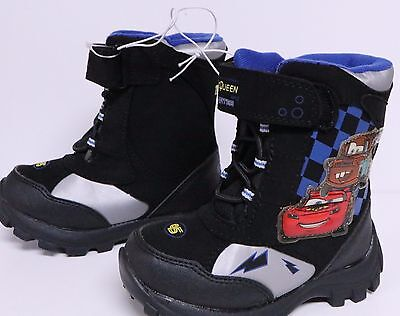 Disney Cars Toddler Boys Winter Boots Size M 7/8