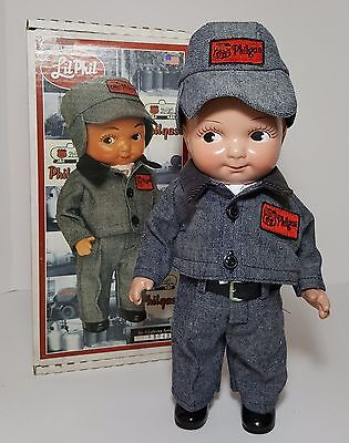 "Phillips 66 Lil Phil 12"" Doll Denim Winter Uniform 5th Issue #5043 Ames Doll Co"