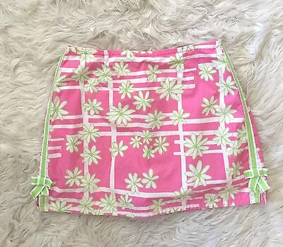 Girls Floral Lilly Pulitzer Skort Size 16