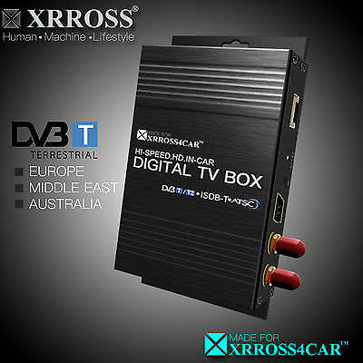 XRROSS Car Digital TV Receiver Antenna DVBT MPEG4HD Europe/Middle East/Australia