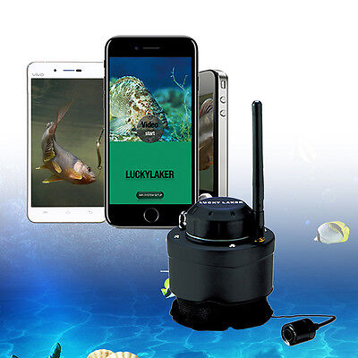 LUCKY Underwater Camera for Fishing 80M Wireless NEW 120 degree for Android IOS