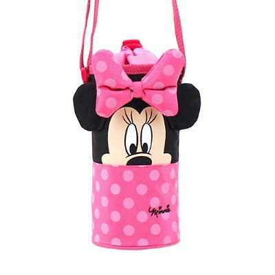 Disney Minnie Mouse Seunsual Water Bottle Cross Cover Pink