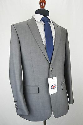 Mens Blake & Currethers Grey Tailored Fit Suit 36 38 40 42 44 46 48 50 52 EZ293