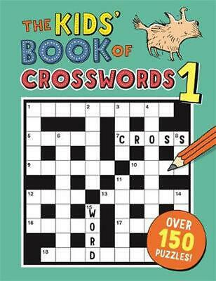 Kids' Book of Crosswords 1 by Gareth Moore Paperback Book Free Shipping!