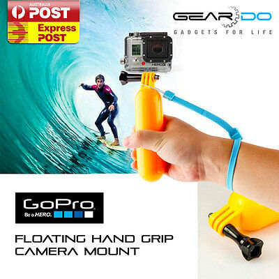 NEW GoPro Floating Hand Grip Handle Mount Accessory Float for Hero 1 2 3 3+ 4