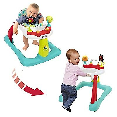 Baby Infant Activity Walker 2 In 1 Walk First Steps Toy Toddler Learning Center