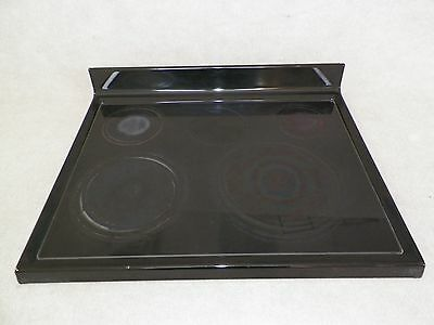 W10258713 Maytag Range Maintop Glass Top Assembly Black
