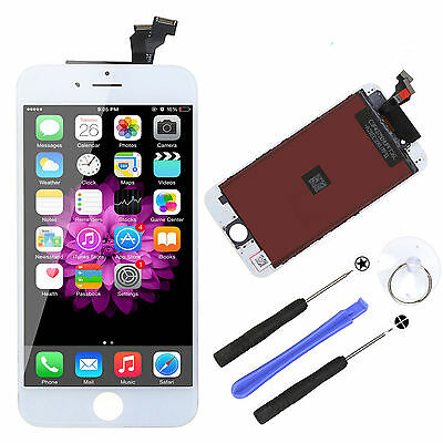 iPhone 6 LCD Display Touch Screen Digitizer Assembly Replacement White + Tools