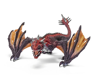 New Schleich Dragon Fighter Knight Fantasy Playing Daily Children Fun Toy Age 3+