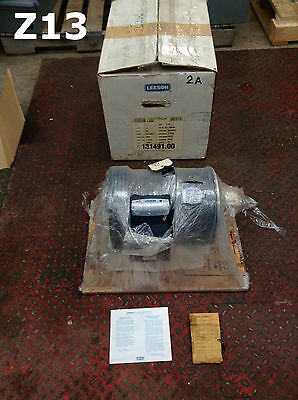 Leeson 131491.00 3HP Electric Motor 1740RPM 208-230/460V 3PH TEFC NIB