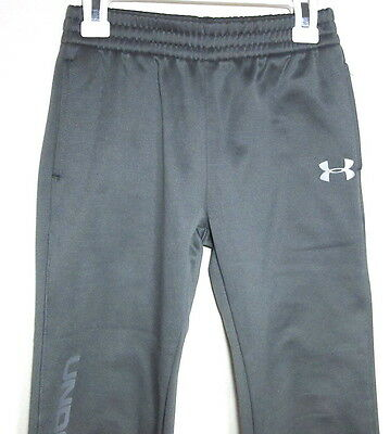 """Kids 6 UNDER ARMOUR Athletic PANTS Pockets Easy Pull-on Inseam 21,5"""" Boys Girls"""
