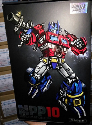 new Transformers MP - 10 G1 optimus prime alloy revision