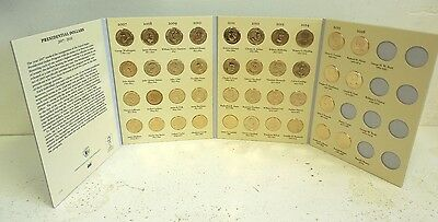 39 pc Set of Uncirculated Presidential Dollar Coins In Folder