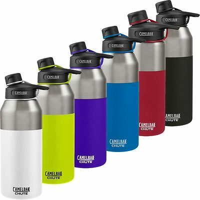 Camelbak 2017 Chute Vacuum Insulated Stainless Hydration Drink Water Bottle