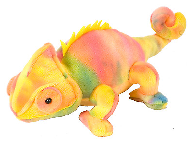 "Wild Republic Cuddlekins Minis 8"" Cameleon Cuddly Soft Toy Teddy 12275"