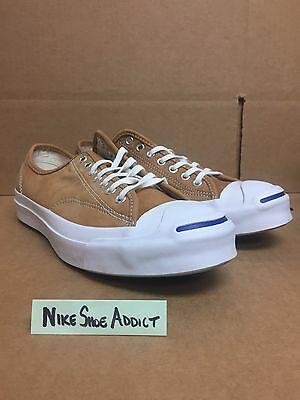 size 40 0af2c 12014 Converse JP Jack Purcell Signature OX Low Luggage Tan White 151448C Chuck  Taylor
