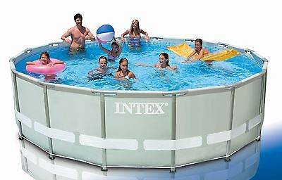 Intex Frame Pool Set Ultra Rondo Ø 427 x 107 cm 28310 GN
