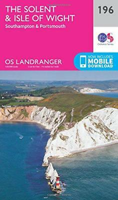 Landranger (196) The Solent & the Isle of Wight, Southampton & Portsmouth (OS La