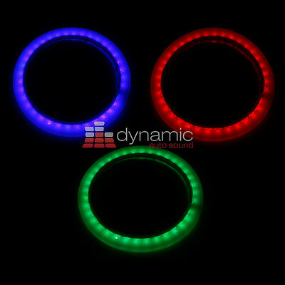 "Wet Sounds LED KIT 808 RGB Boat LED Rings 8"" Coaxial Speakers Red,Green,Blue"