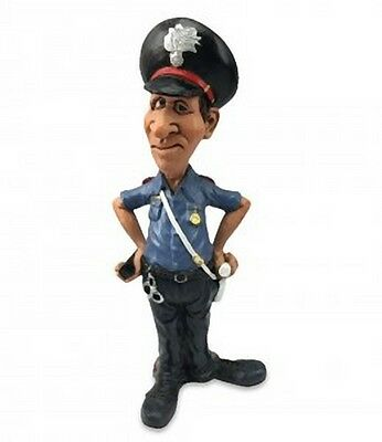 MESTIERI FUNNY COLLECTION LES ALPES CARABINIERE 014 99658 Statuetta Caricatura