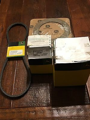 JOHN DEERE 535 Baler New OEM Parts Bale Shape Sensor, Belt, Clutch, Filter