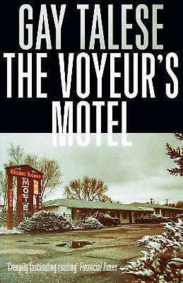 Voyeur's Motel by Gay Talese Paperback Book Free Shipping!