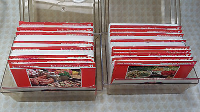 VINTAGE 1980s GREAT AMERICAN RECIPES, 1000+ Recipe Cards, 2 BOX SET