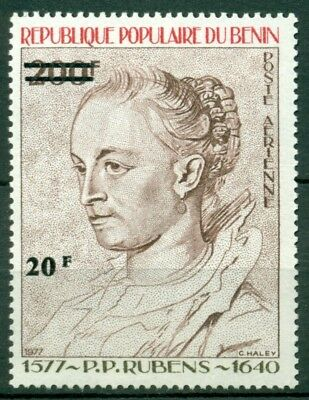 Benin Scott #C311 MNH SCHG 20fr on 200fr #C280 Peter Paul Rubens CV$6+