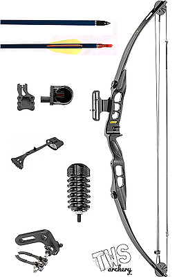40lb-55lb Compound Bow Complete Starter Package Kit