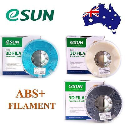 eSUN ABS+/ABS 3D Printer Filament 1kg 1.75mm 2.85mm & 3mm Free Shipping AU