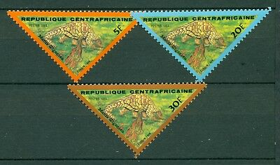 Central African Republic Scott #J13-J15 MNH Giant Anteater Fauna $$ CLEARANCE