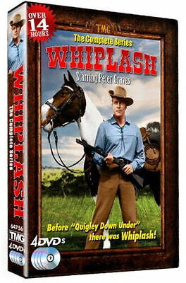 Whiplash: The Complete Series (DVD, 2012, 4-Disc Set) * NEW *